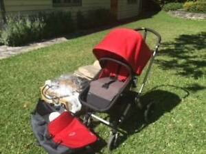Excellent condition Bugaboo Pram/bassinet with 2 canvas sets Haberfield Ashfield Area Preview