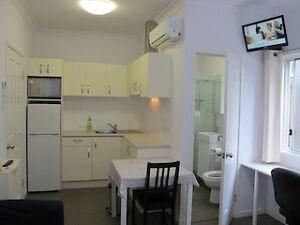 self-cond Studio,A/C,FF,bills incl! near Sthbk,UQ,QUT,CBD, Woolloongabba Brisbane South West Preview