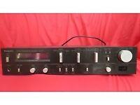 Technics SU-V5 Amplifier, Output 60 Watts per channel (black, with silver controls) £80