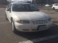 1999 Plymouth Breeze Sedan- Saftied, e-tested, ready to drive