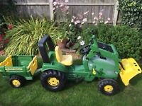 John Deere Ride On Tractor - Rolly Toys