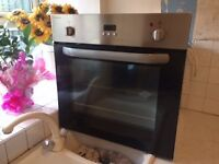 Stoves Stainless Stain Electric Oven & Gas Hob