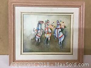Oil on canvas Joyce Roybal framed