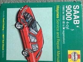 Saab 9-3 Haynes manual 1985-1995