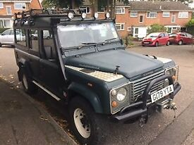 Landrover 110 V8 not Defender