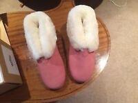 Pair of New Ladies Morland Sheepskin Slippers