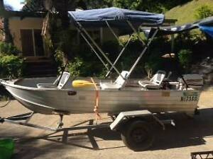 12 Ft Clark Runabout With Johnson 15hp Cairns North Cairns City Preview