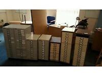 Bisley Multidrawer Filing Cabinets