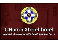 PART or Full TIME NIGHT Receptionist for Funky, downtown Boutique Hotel in South London