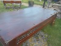 MASSIVE SOLID COFFEE TABLE ** 166cm x 100cm ** CLACTON ON SEA CO15 6AJ