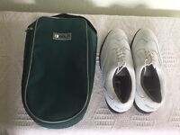 Proline golf shoes - brand new - UK Size 9, with carry case