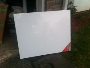 8 large Canvis for painting on. $10 each