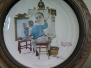 Norm Rockwell Plate