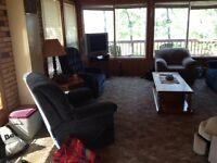 Lakefront cabin for sale at Candle Lake, Saskatchewan