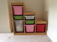 Storage for toys, small things, etc