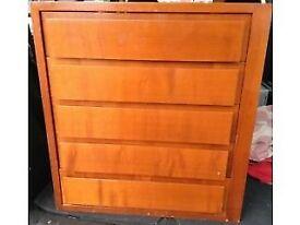 Storage Five Drawer Unit