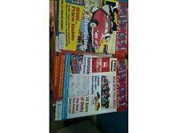 Diecast magazines joblot