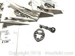 14 Sets Authentic Tierracast Key And Lock Toggles