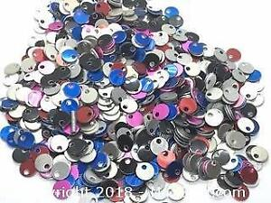 1000pcs Mixed Colour Aluminum Stamping Blanks Tags