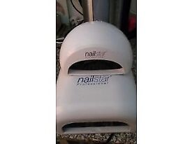 Nail lamps good condition nearly new £5.00 each.