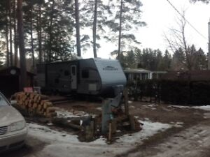 Year round Lot # S44 at Pine Lake Family Campground Bayfield on