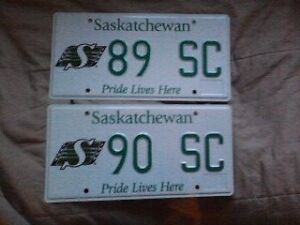 89 or 90 SC   NEW  RIDER Plates