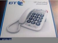 Brand new in box BT Big Button 200 Phone