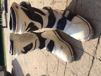 Kids Dirt Bike Boots size 1 and 2