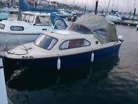 Shetland family four cabin cruiser boat 50hp quick sale price
