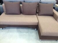 BARGAIN! –CORNER SOFA BED -FABRIC-VERY-GOOD QUALITY-DELIVERY AVAILABLE!-LAST CHANCE TO BUY IT!