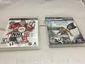 2 PlayStation 3 Games