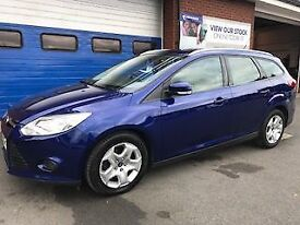 FORD FOCUS 1.6 TDCi EDGE ECONETIC 5dr (blue) 2014