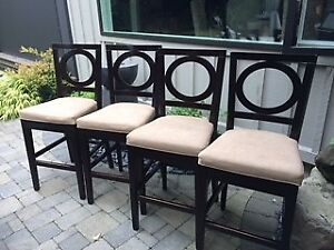 Four Bar Stools from In House
