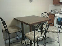 NEW PRICE** Ashley Furniture Pub Height Dining Set