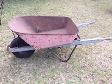 Large older style wheelbarrow Yagoona Bankstown Area Preview
