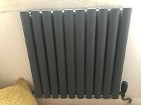 Brand new double panel grey radiator