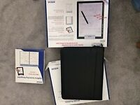 ACECAD DigiMemo A402. Digital Notepad with Memory and Deluxe Zip Portfolio