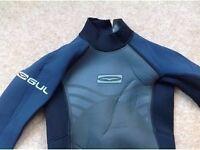 GUL navy & black long wetsuit age 8-9 £15