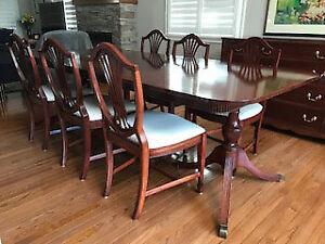 Mahogany Duncan Phyfe Dining Set
