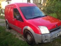 Ford Transit Connect T230 LX 1.8 Diesel (LWB High Roof) 2003 Plate Spares or Repairs