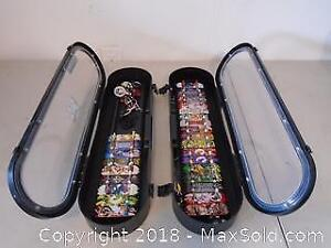 Assort Tech Deck with 2 Cases