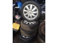 renault 16 INCH ALLOY WHEELS 205/55R16