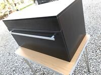 Brand new wood Hung wall bathroom vanity unit for sink