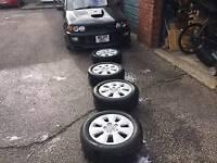"""Audi a3 2008 16"""" alloy wheels"""
