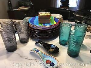 Assorted Dish ware