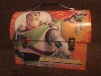 Buzz Lightyear tin lunchbox