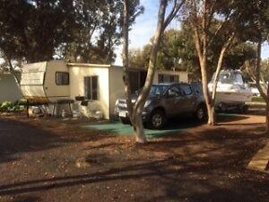 On site van at Port Hughes Tourist Park Virginia Playford Area Preview