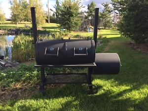 Real Offset Competition wood BBQ smoker pits FALL CLEARANCE SALE