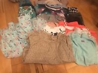 Bundle of girls clothes - 17 items only £25 age 10-12