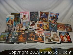 Large lot of DVD movies